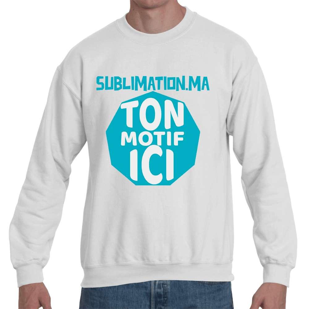 Sweatshirt Personnalisé avec strass