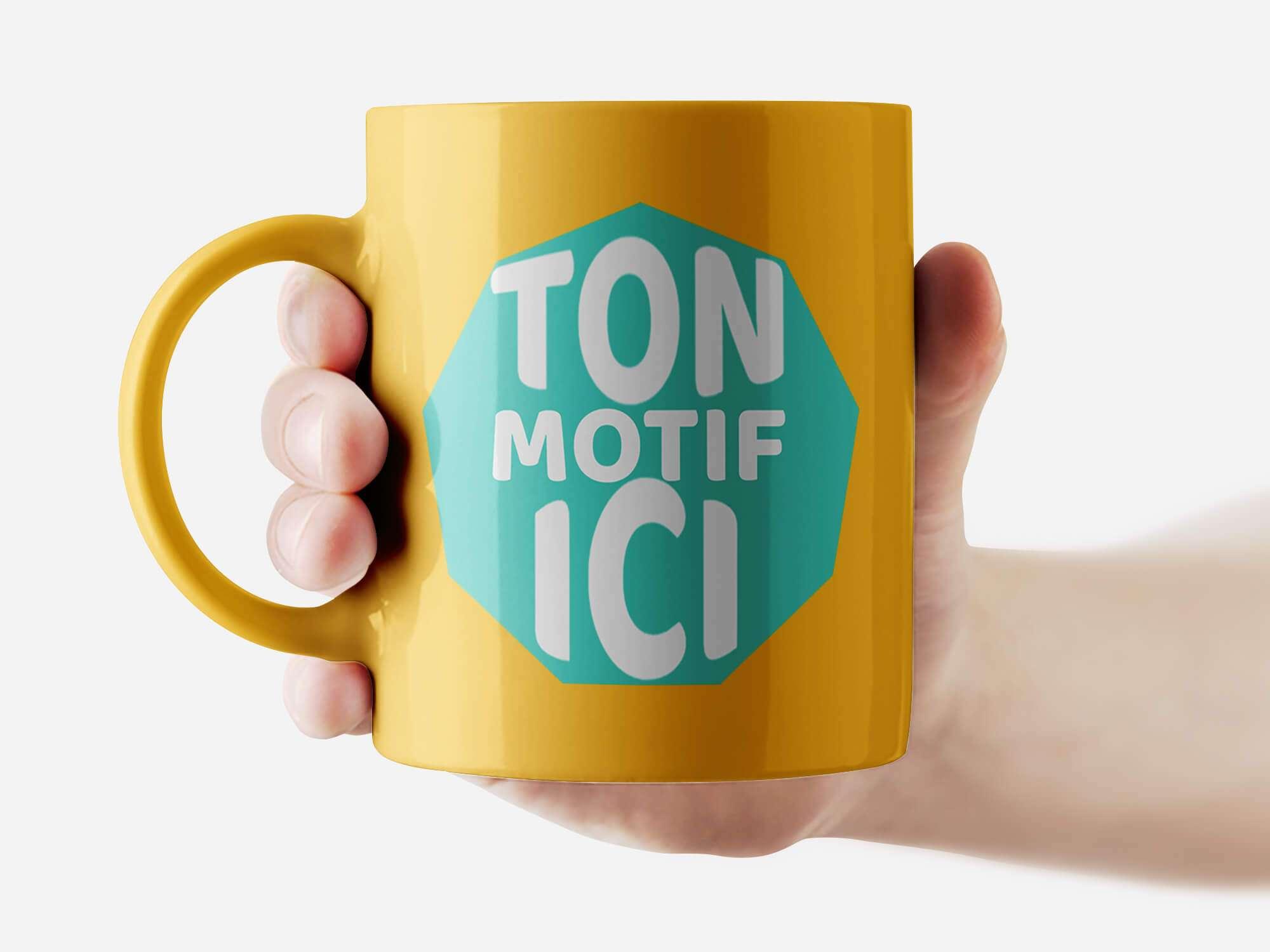 Mug Gold Gliter Personnalisé