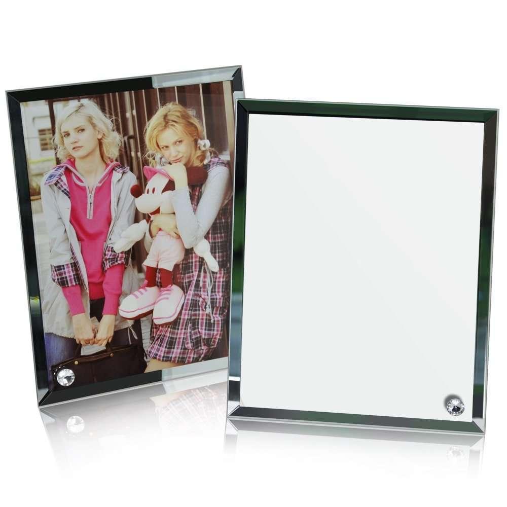 Cadre photo en verre 18 x 23 x 0,5 cm Personnalisé