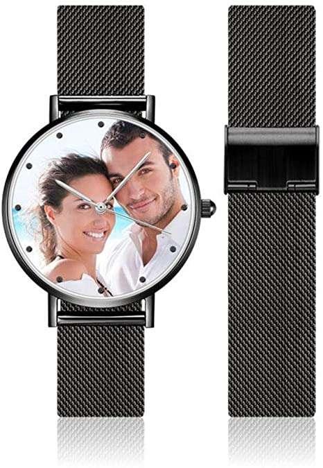 Une montre personnalisable avec votre photo